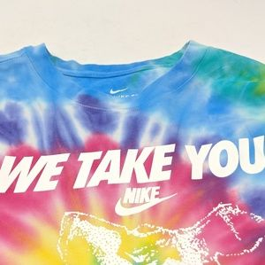 partes política lo hizo  Nike Shirts | New Nike We Take You Higher Tiedye Oversized Tee | Poshmark